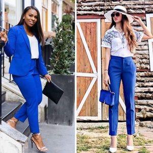 ZARA BLUE ANKLE PANTS